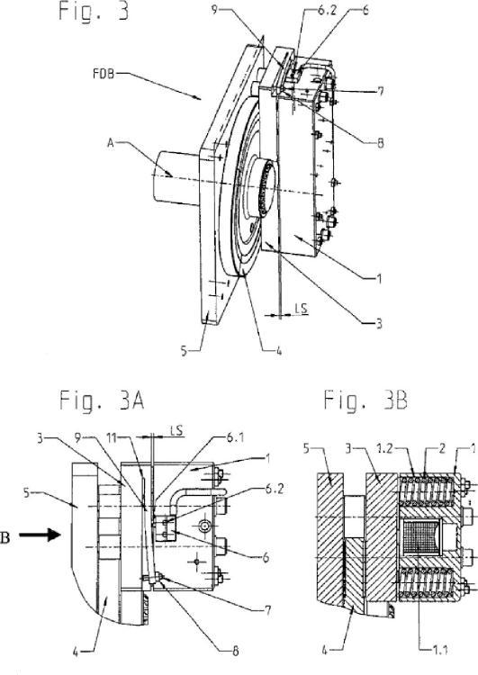 Dispositivo perfeccionado para monitorizar el estado de conmutación de un freno por presión de muelle.