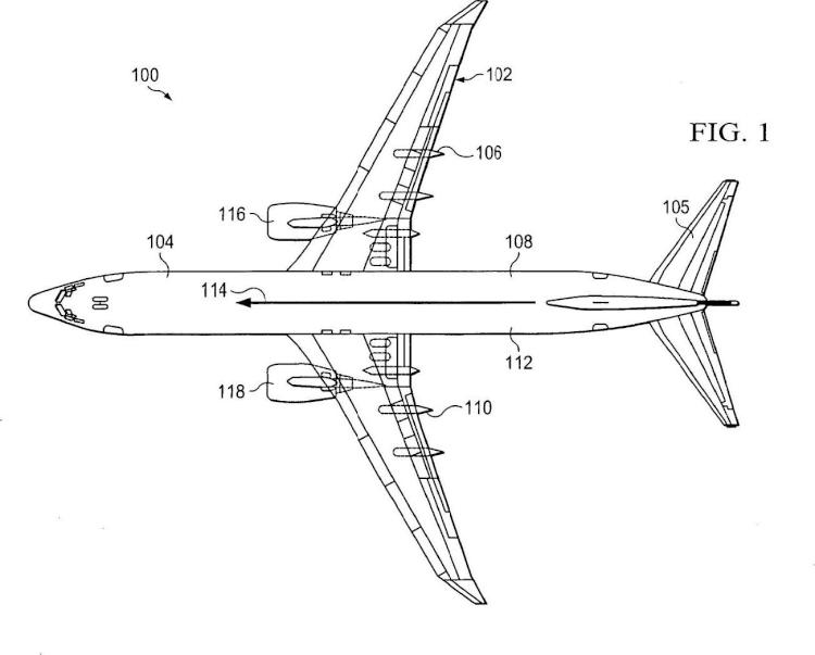 Sistema de compensación de trayectoria de vuelo para variaciones de velocidad aerodinámica.