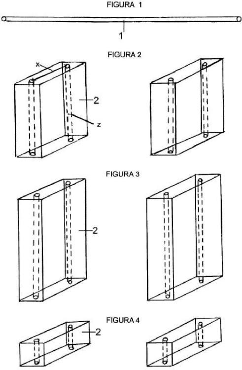 Estantería modular montable por enhebramiento sin herramientas.