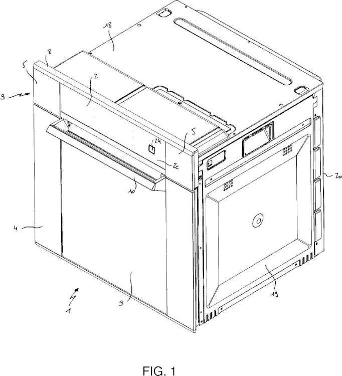 Procedimiento de control del desplazamiento de un elemento móvil de un panel de mando de un aparato electrodoméstico y aparato electrodoméstico asociado.