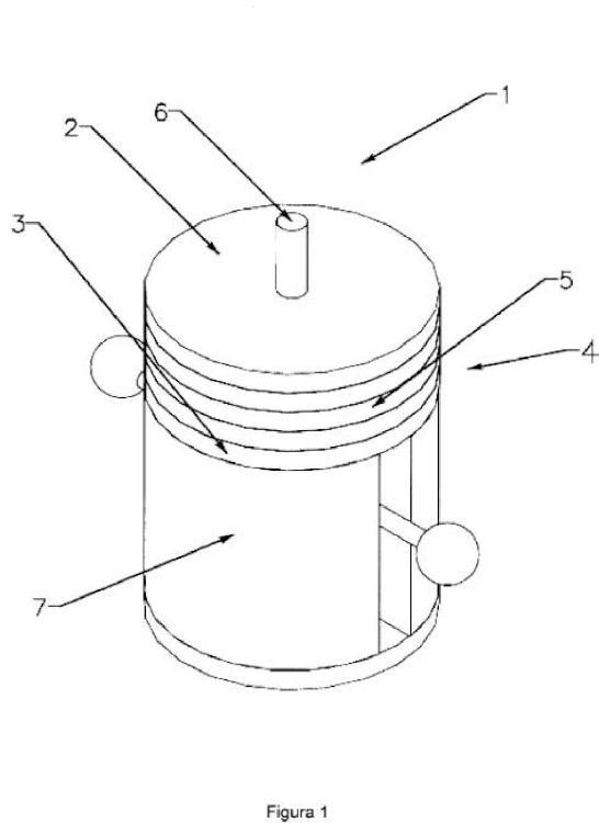 Turbina de generación magnética.