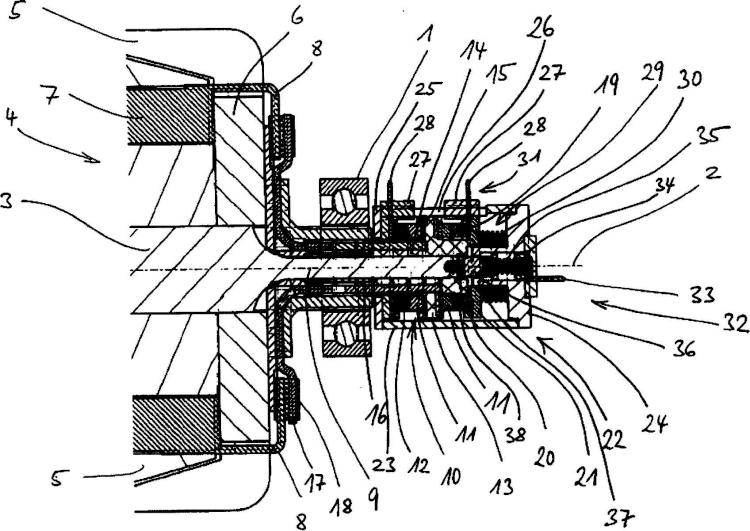 Máquina dinamoeléctrica.