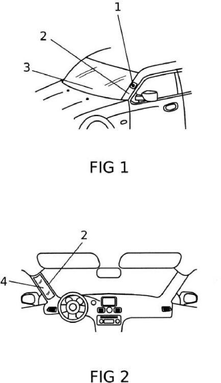 Videocámara para visualizar los puntos ciegos estructurales de un vehículo.
