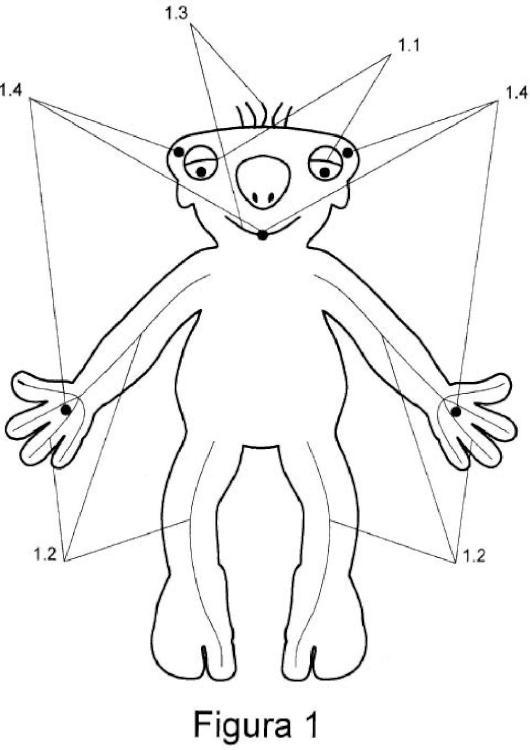 Muñeco mascota configurable.