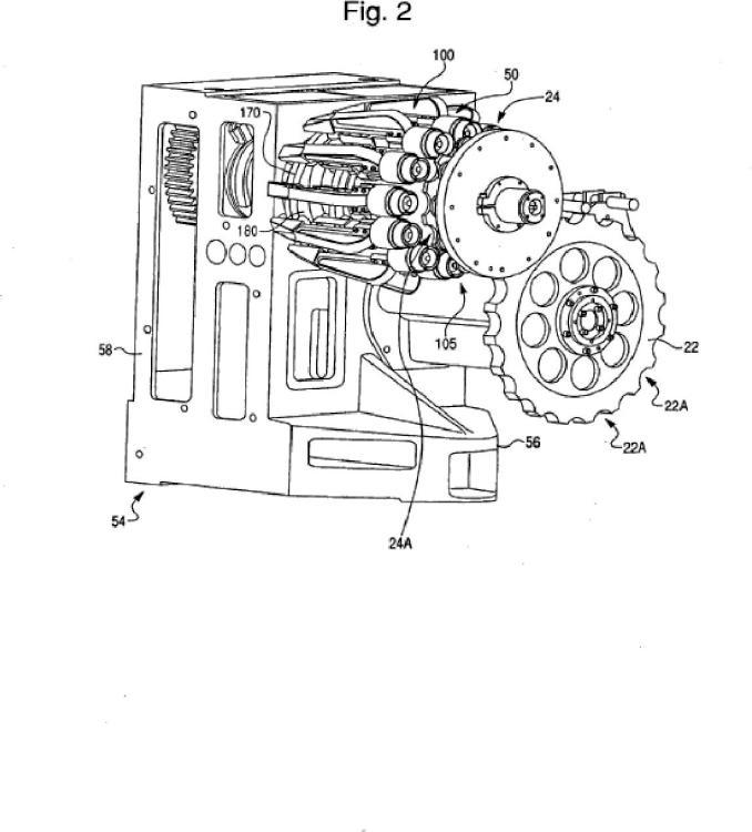 Conjunto de pistón dual para máquina de estrechamiento.