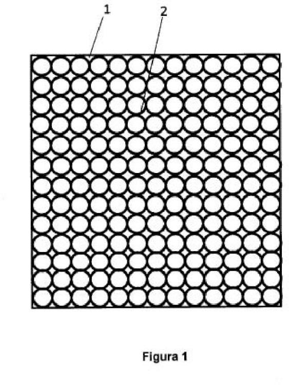 Panel rígido de aislamiento térmico con vacío interior.