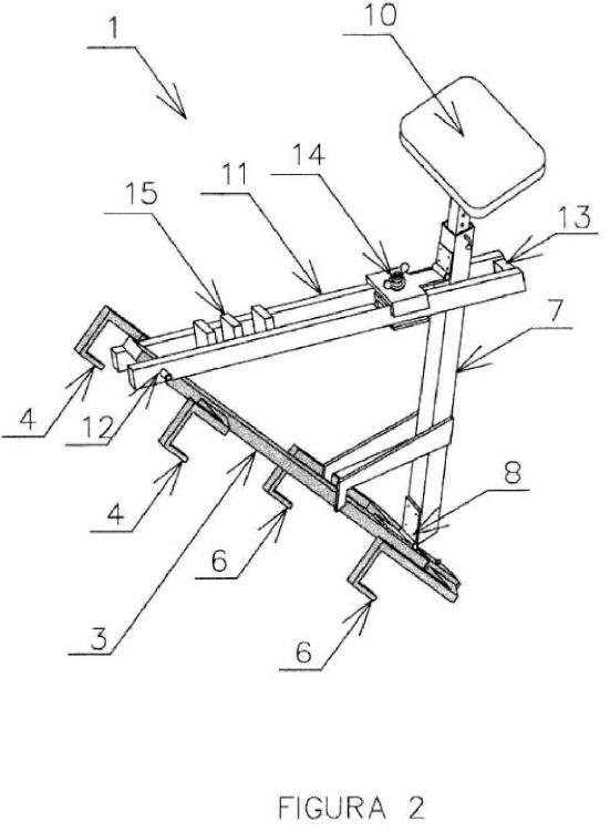 Silla para acoplar sobre escalera de mano.
