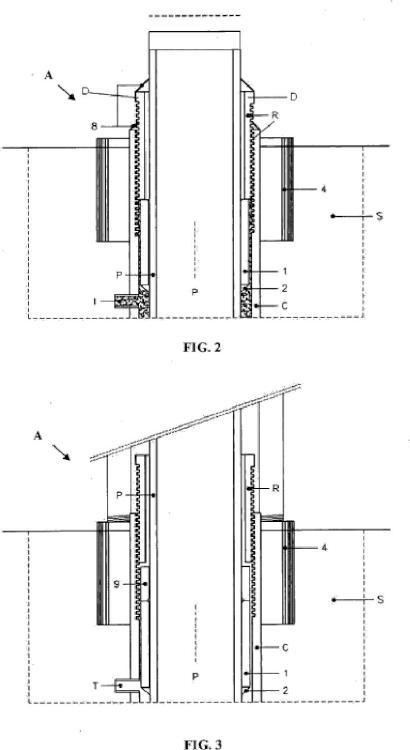 Aparato y método para el levantamiento de cimientos para edificios.