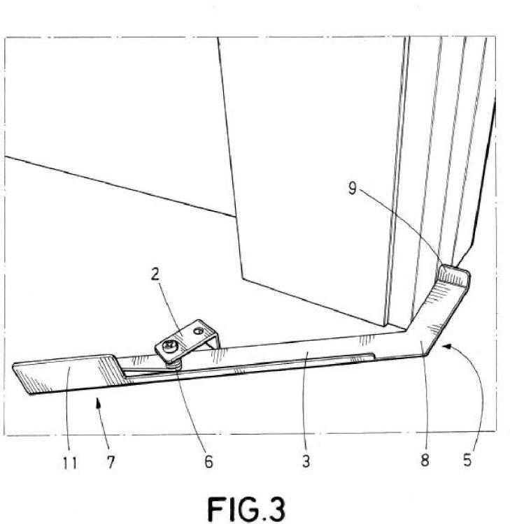 Accesorio de apertura para estructuras batientes y/o correderas.