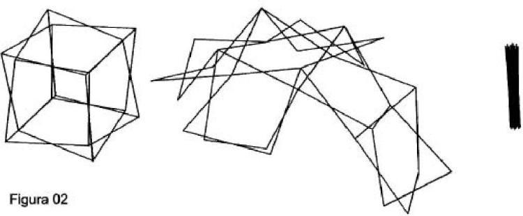 Poliedros desplegables de estructura tubular y cerramiento textil.