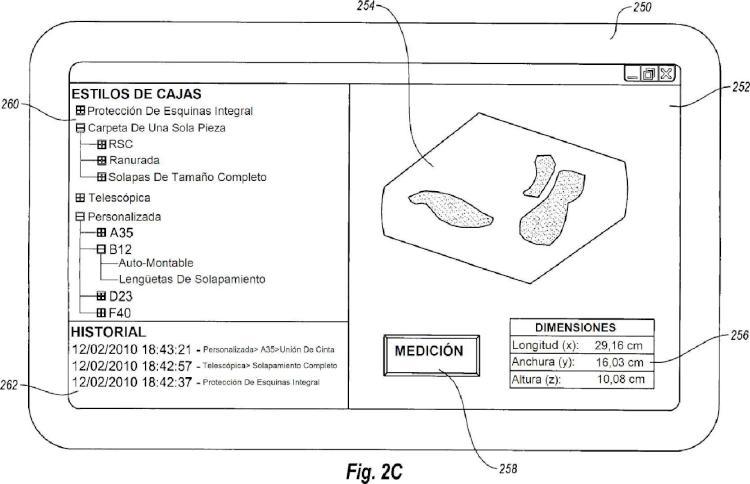 Ilustración 4 de la Galería de ilustraciones de Creación de un embalaje a demanda en función de una disposición personalizada de artículos
