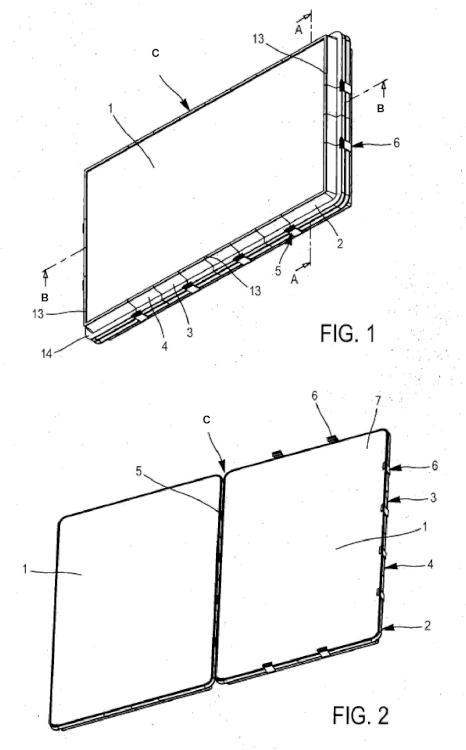Caja de embalaje modulable, en particular para objetos frágiles así como su procedimiento de fabricación.