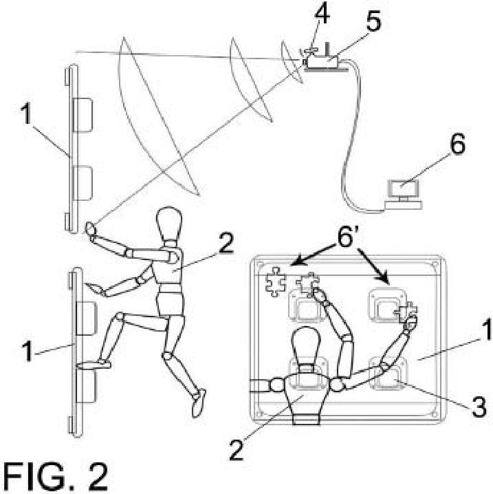 Sistema para la práctica simulada de ejercicios de escalada.