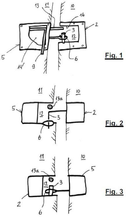 Un kit para la conexión articulada entre paneles divisorios en establos o cochineras.
