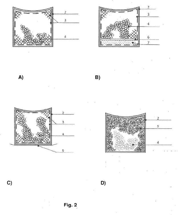 Elemento geocompuesto, en particular para mejorar el crecimiento de plantas.