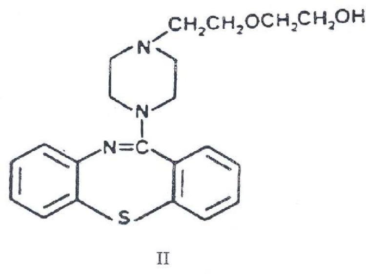 Procedimiento para preparar compuestos de tiazepina con actividad antidopaminérgica.