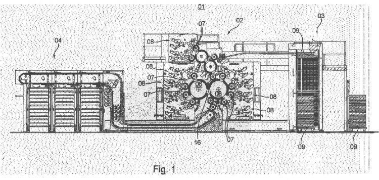 Procedimiento para disponer una plancha de impresión en un cilindro portaplanchas.