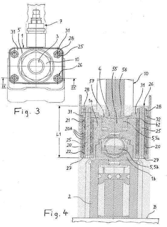 Dispositivo tensor para expandir un perno roscado.