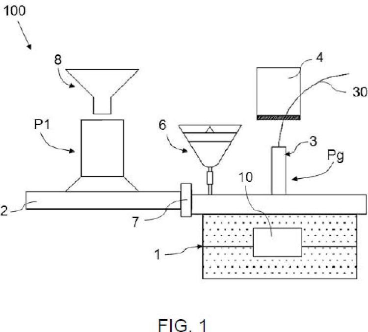 Máquina y método para la fabricación de machos de arena.