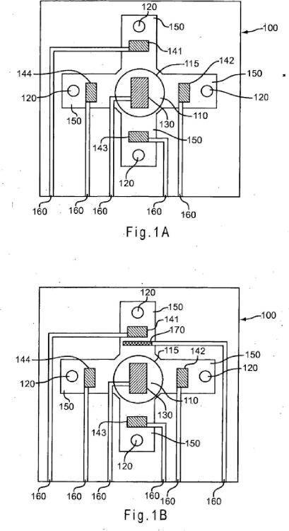Sensor de ensayo de múltiples electrodos.