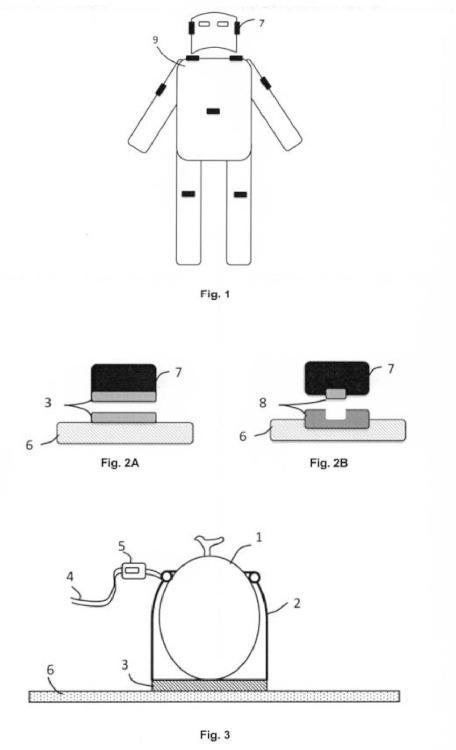 Sistema de marcado para armaduras y trajes.