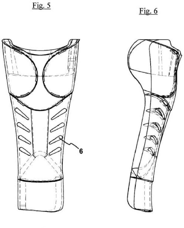 Ilustración 5 de la Galería de ilustraciones de Elemento de protección para espinilla