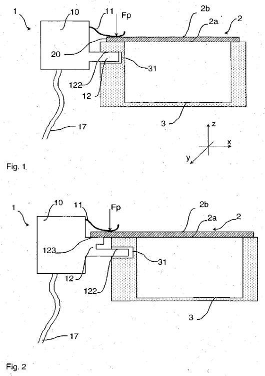 Conector eléctrico para tarjeta de circuito impreso y carcasa eléctrica estanca que contiene un conector de este tipo.