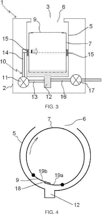 Máquina para lavar la ropa que comprende un dispositivo de recirculación de agua.