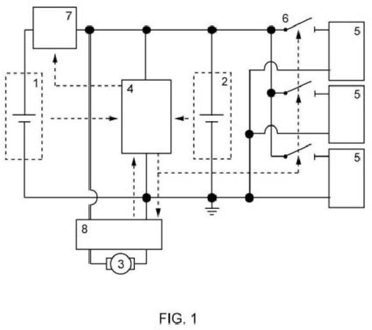 Sistema de microgeneración y almacenamiento de energía en dispositivos embarcados.