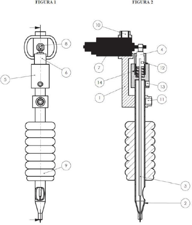 Dispositivo electromecánico para tatuaje.