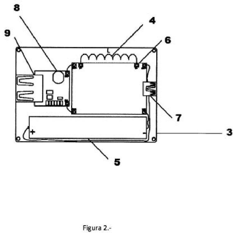 Dispositivo portátil autogenerador de corriente termoeléctrica para aparatos electrónicos.