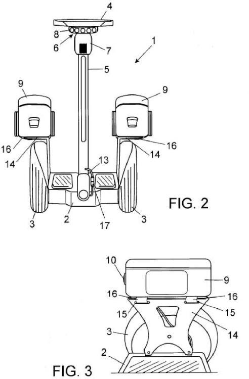 Vehículo transportador personal adaptado.