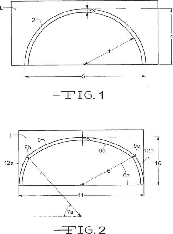 Sistema de arcos ligeros de despliegue rápido resistentes a la carga.