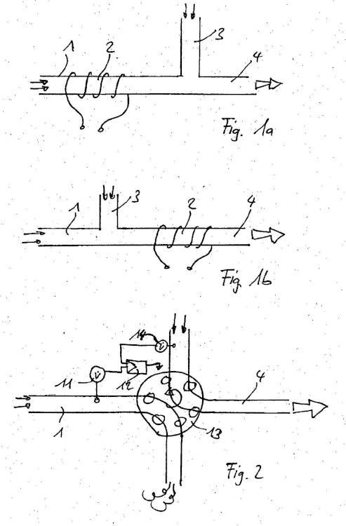Procedimiento y dispositivo para la detección, caracterización y/o eliminación de partículas en suspensión.