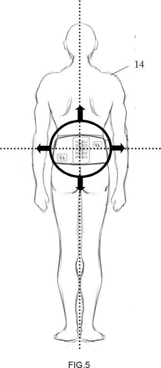 Dispositivo para el control de la postura y movimiento del raquis lumbar.