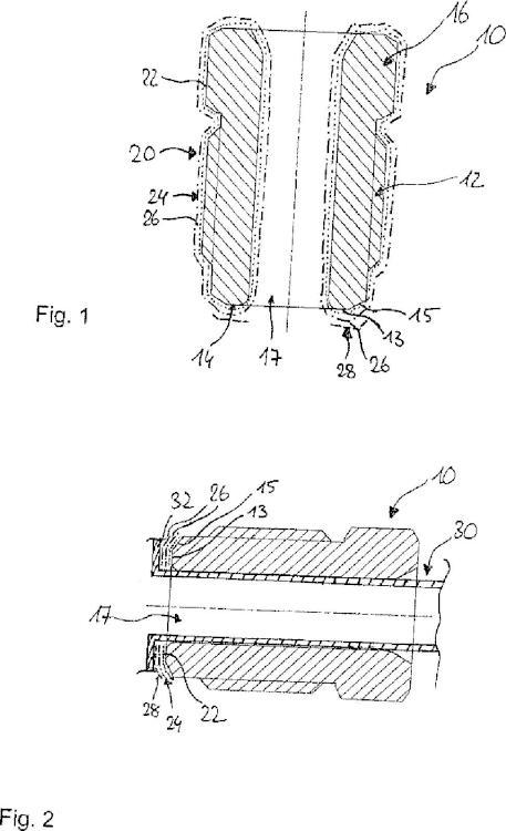 Tornillo de tubo para la fijación de una tubería y procedimiento para fabricar un tornillo de tubo de este tipo.