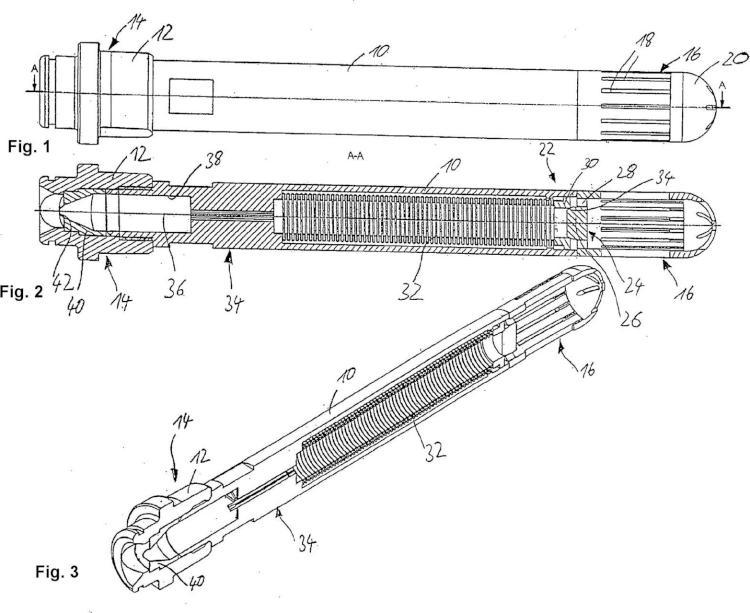 Válvula antirretorno para tobera de pulverización y tubo de tobera.