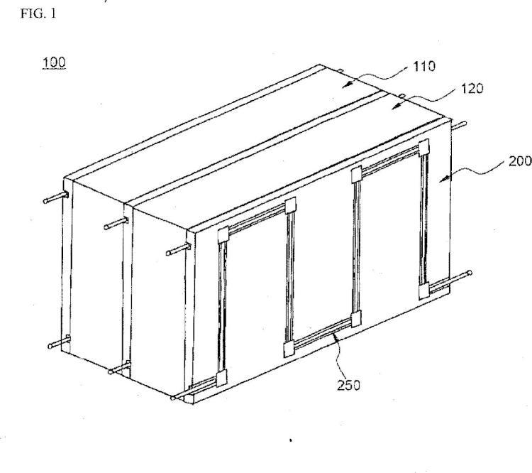 Conjunto de módulo de batería con eficiencia de refrigeración mejorada.