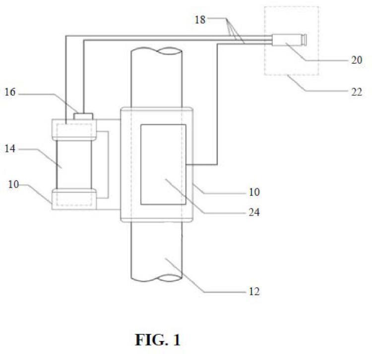 Sensor, red de sensores, método y programa informático para determinar la corrosión en una estructura de hormigón armado.
