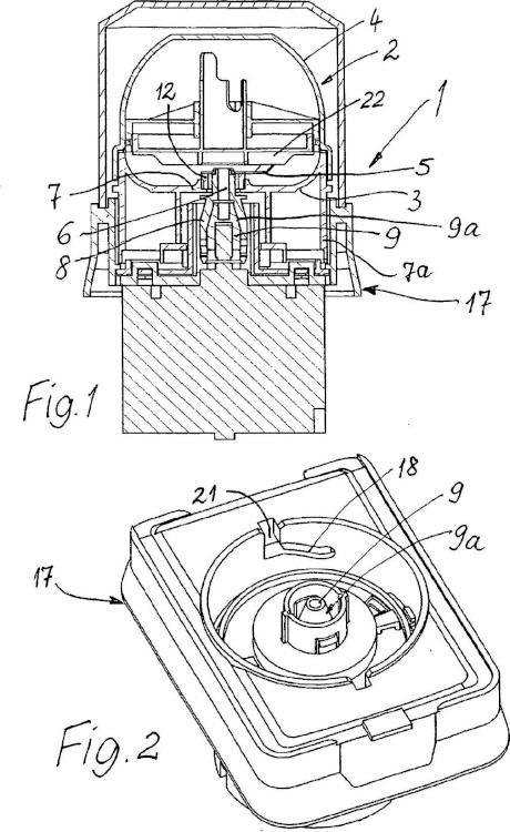 Dispositivo para fragmentación o trituración.