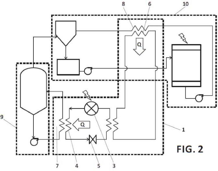 Procedimiento de optimización energética en sistemas de evaporación y cristalización de sales.
