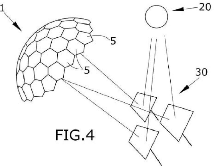Receptor solar abovedado y planta solar que comprende dicho receptor.