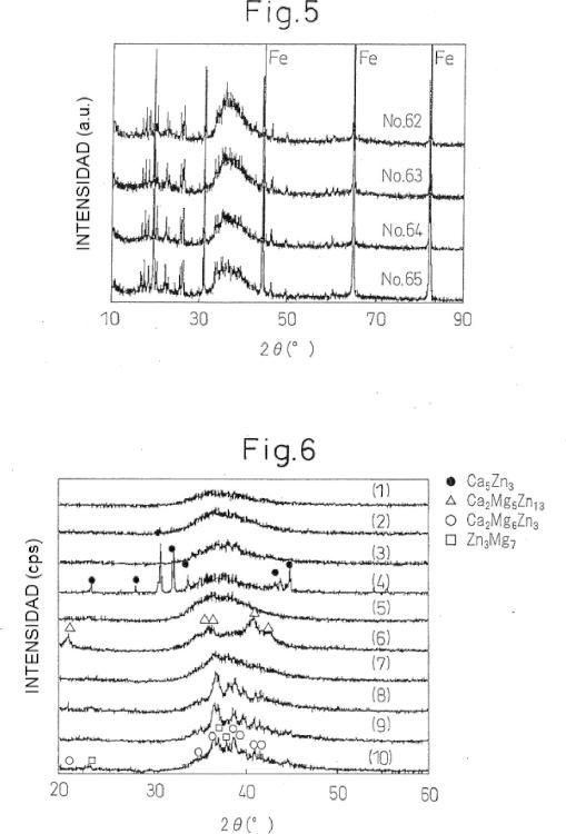 Aleaciones con capacidad de conformación amorfa alta y miembros metálicos chapados con aleación fabricados por el uso de las mismas.