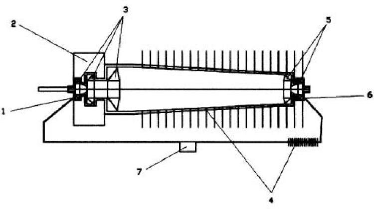 Motor térmico sin combustión de ciclo rotativo de fluido condensable en circuito cerrado alimentado por la energía de una diferencia de temperatura.