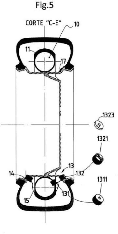 Dispositivo y procedimiento automático para inflado de neumáticos.