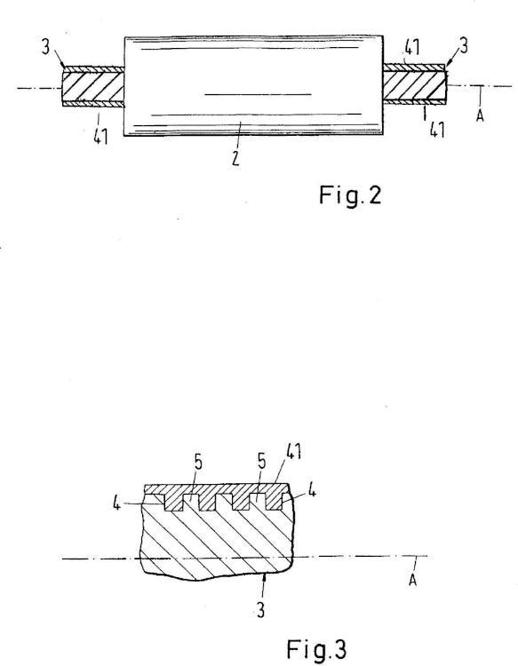 Rodillo de baño de inmersión y procedimiento para la fabricación de un rodillo de baño de inmersión.