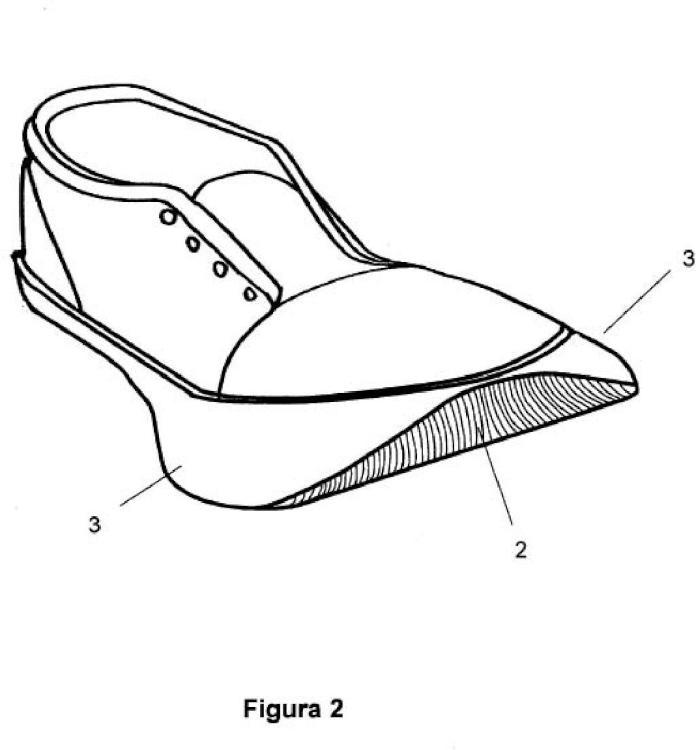 Calzado que evita los bloqueos de la marcha y las caídas en pacientes parkinsonianos.