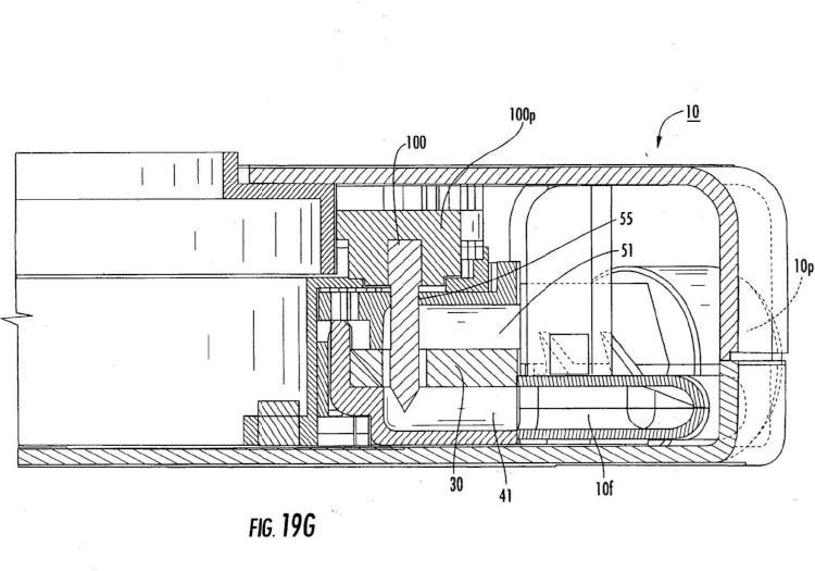 Ilustración 2 de la Galería de ilustraciones de Mecanismos inhaladores con perforadores predispuestos radialmente y métodos relacionados
