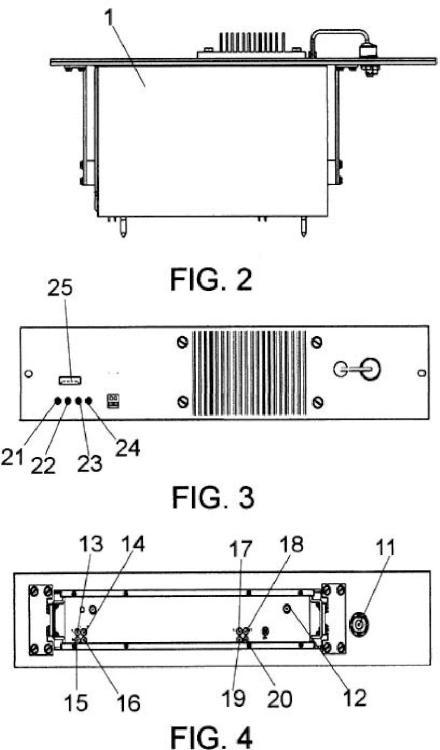 Equipo modulador/demodulador de señales vocales y datos.