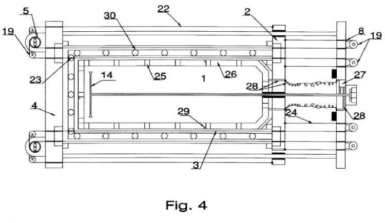 Compensación de la presión atmosférica y protección térmica en las láminas elásticas de la obtención de vacío por medio de fuerza elástica, perfeccionada.